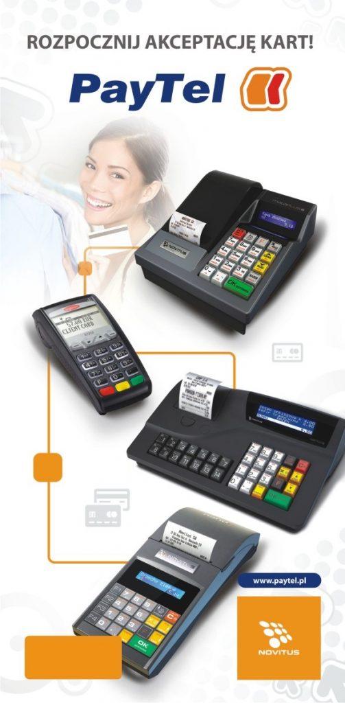 Integracja terminala płatniczego z kasą fiskalną novitus