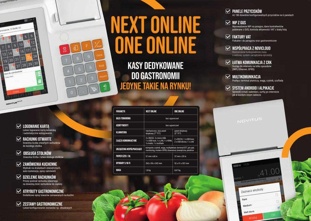 Ulotka informacyjna o kasach fiskalnych do gastronomii
